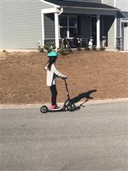 Kirby W. verified customer review of Midnight Adult Kick Scooter