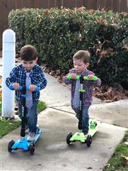 Sherry L. verified customer review of Twin Folding Kick Scooter