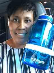 Donna S. verified customer review of System 64 Oz Water Bottle