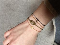 Vanille B. verified customer review of Bracelet Arbre de Vie - Or