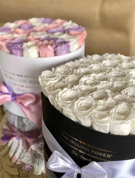 The Million Roses Europe Premium - Princess Eternity Roses Selection - White Box Review
