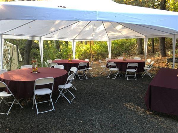 Hensz, J. verified customer review of 108 Burgundy Polyester Round Tablecloth