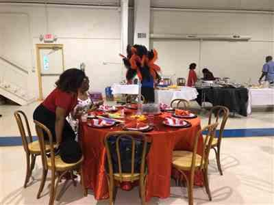 Desha A. verified customer review of 120 Red Satin Round Tablecloth