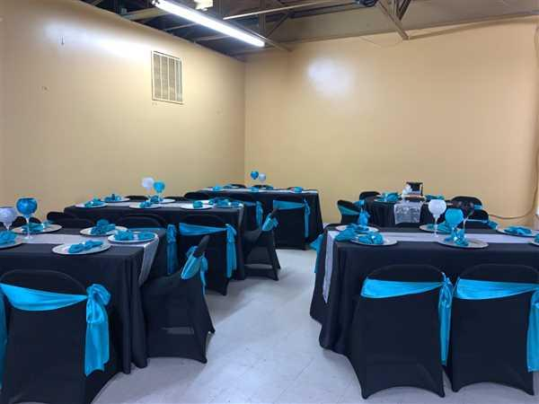 Remikka Frazier-Grant verified customer review of 5 pack | 6x106 Turquoise Satin Chair Sash