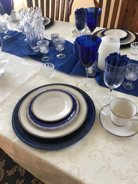 Kim Goss verified customer review of 5 Pack 20x 20 Royal Crinkle Crushed Taffeta Napkins