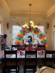 Temeka M. verified customer review of 12FT Heavy Duty Adjustable Balloon Arch Stand Kit