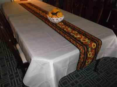 Christina Andrews verified customer review of 60x126 Silver Polyester Rectangular Tablecloth