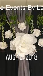 Lisandra V. verified customer review of 2 Pack 20 Large White Real Touch Artificial Foam Craft Roses