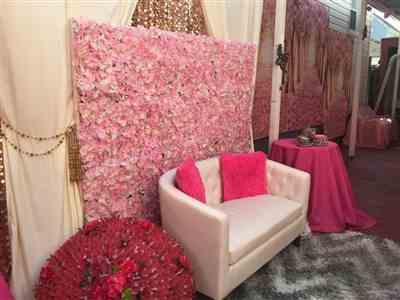 Nalwantie M. verified customer review of 2 Pack | 5FTx10FT Rose Quartz Fire Retardant Polyester Curtain Panel Backdrops With Rod Pockets