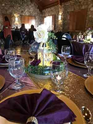 Lisa Mills verified customer review of 120 Amethyst Satin Round Tablecloth