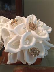 Joyce C. verified customer review of 2 Pack 52 Pcs White Handcrafted Artificial Foam Lily Flowers