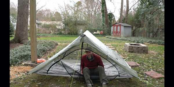 Mike Stevens verified customer review of Plexamid Tent