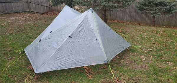 Joe Annese verified customer review of Duplex Tent