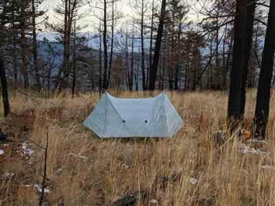 Mike Jordens verified customer review of Triplex Tent