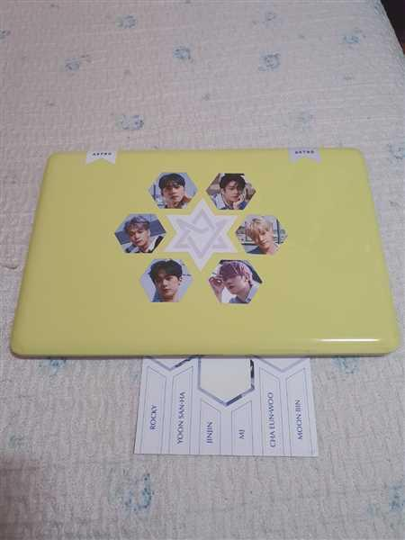 allkpop The Shop Astro 15pc Sticker Set Review
