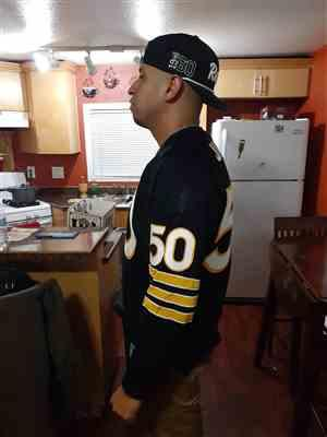 Medina  verified customer review of Oakland Raiders 1960 Durene Football Jersey
