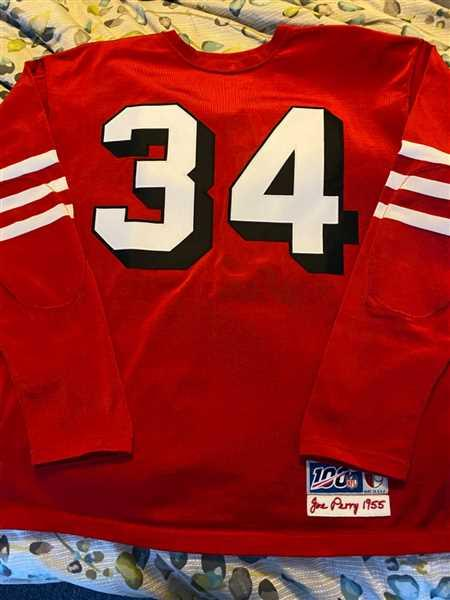 Brandon Lantrip verified customer review of San Francisco 49ers 1955 Durene Football Jersey