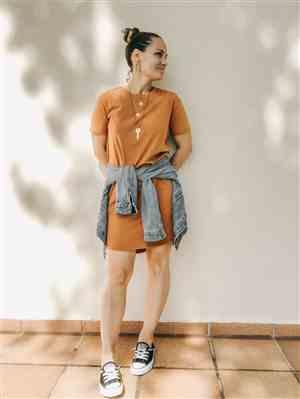 Tradlands Baja T-shirt Dress Sienna Review