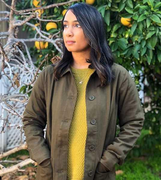 Kat Vargas verified customer review of The Beverly Chore Coat Juniper