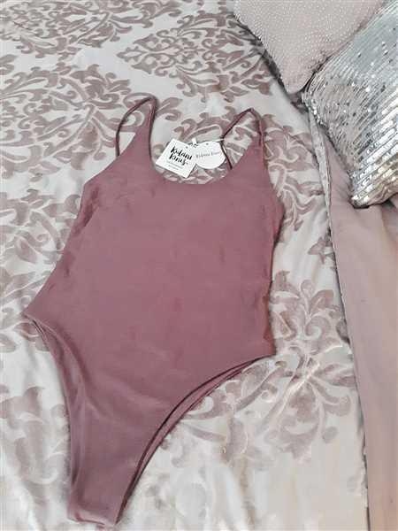 Megan Casares  verified customer review of One Piece Swimwear - Shimmer Plum