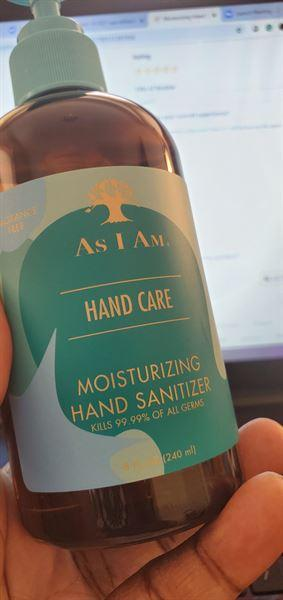 As I Am Moisturizing Hand Sanitizer Review