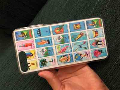 Daniela L. verified customer review of Lotería iPhone Case