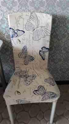 Kim Lowery verified customer review of Vintage Butterfly Print Dining Room Chair Cover