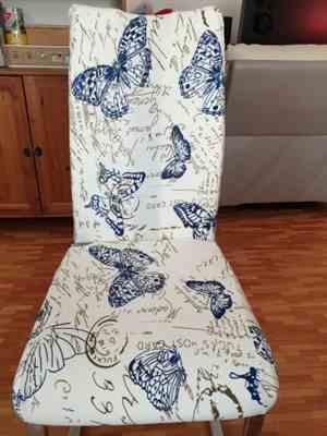 Michelle B. verified customer review of Vintage Butterfly Print Dining Room Chair Cover