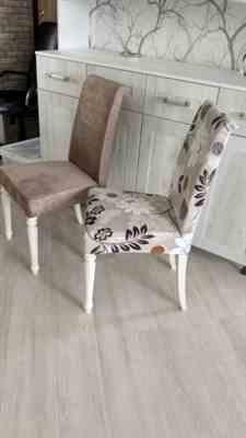 Jen Derricks verified customer review of Light Brown Floral Print Dining Chair Cover