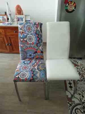 Anonymous verified customer review of Multi-Color Bohemian Pattern Dining Chair Cover
