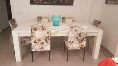 Anonymous verified customer review of Light Brown Floral Print Dining Chair Cover