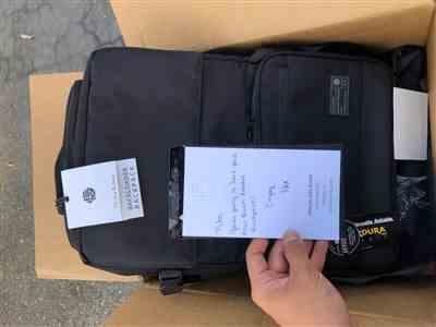 Kiho Park verified customer review of Black Back Loader DSLR Backpack
