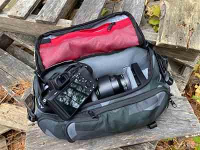 Daniel Simmons verified customer review of Ranger Glacier Camo DSLR Sling