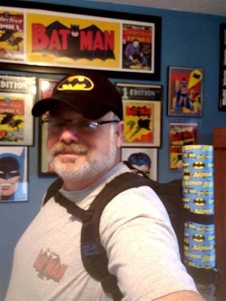 Keith Mayo verified customer review of HEX x Jim Lee Collectors Backpack