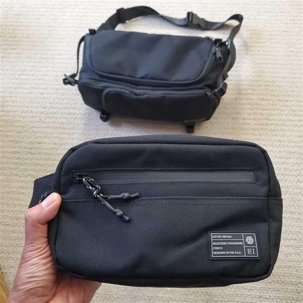 Earon Sotto verified customer review of Aspect Black Waist Pack