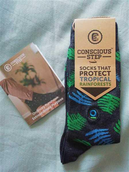 Conscious Step Socks that Protect Rainforests Review