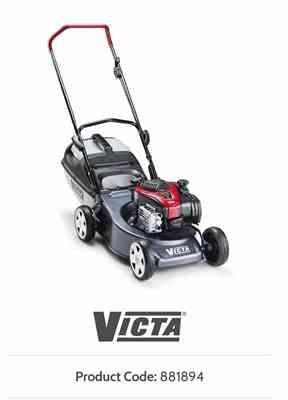 Junghee P. verified customer review of Victa Corvette 200 Petrol Lawn Mower