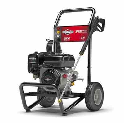 John Evans verified customer review of Briggs & Stratton Sprint 2800 Pressure Washer