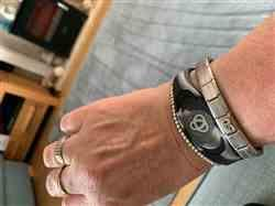 Lisa D. verified customer review of Arctic Camo Ion Core Bracelet