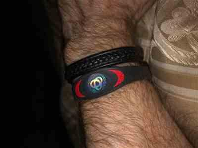 Steve Feeley verified customer review of Black & Red Ion Core Bracelet