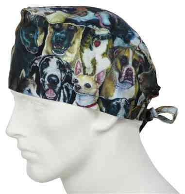 Michael N. verified customer review of Scrub Caps Dog Days