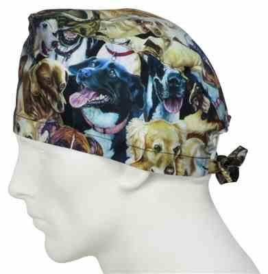 Roger D. verified customer review of Scrub Caps Dog Days