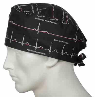 tony verified customer review of Scrub Caps Electrocardiogram