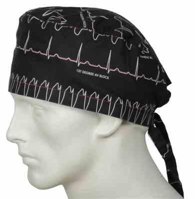 JOANNA verified customer review of Scrub Caps Electrocardiogram
