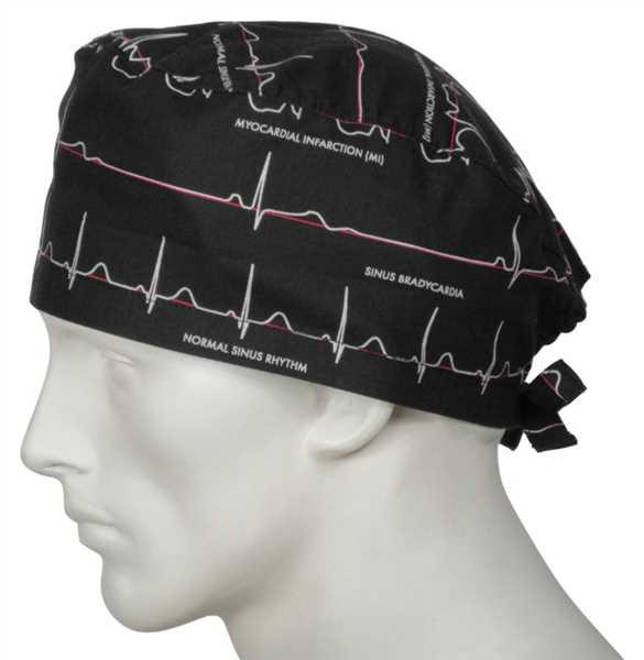 Richard Connelly verified customer review of Scrub Caps Electrocardiogram