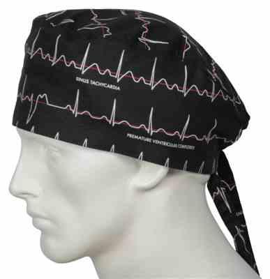 micah s. verified customer review of Scrub Caps Electrocardiogram