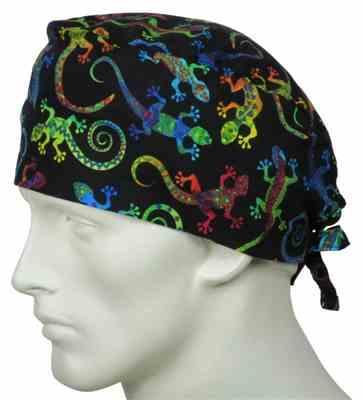 Nancy R. verified customer review of Scrub Cap Magic Gecko