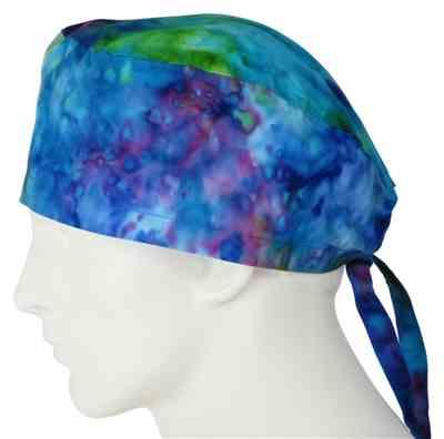 Joel A. verified customer review of Surgical Scrub Cap Tie Dye