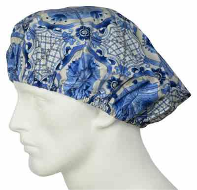Ann W. verified customer review of Bouffant Surgical Hats Dutch Cottage