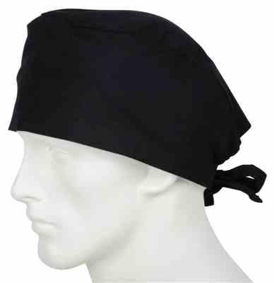 Caryl Walton verified customer review of Surgical Caps Midnight Black